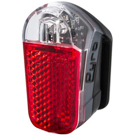 spanninga Pyro Rechargeable Rear Light StVZO, black
